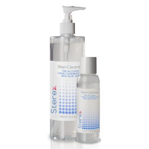 Stericleanse-500ml/100ml bottles