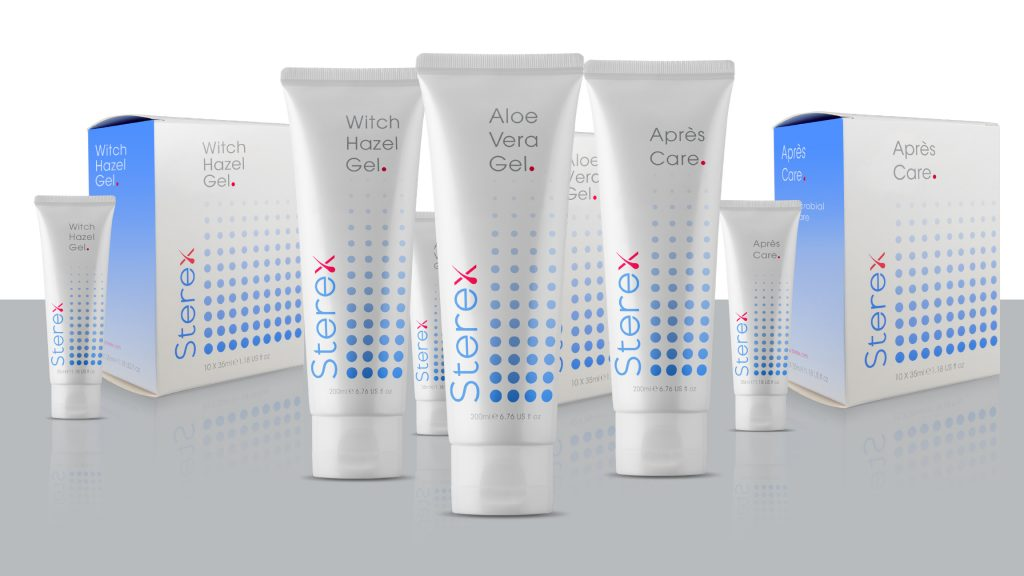 Sterex Range of Aftercare Products